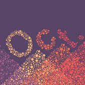Abstract Dotted Text - Months: October
