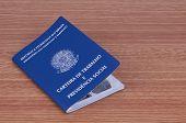 Brazilian Work Document And Social Security Document (carteira De Trabalho)