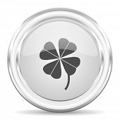 four-leaf clover internet icon