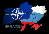 Ukraine Map Nato V Russia