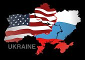 Ukraine Map Usa V Russia