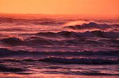 Sunset Waves Victoria Australia