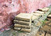 Square Concrete Paver