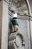 Manneken Pis Dressed In Uniform