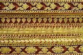 Pattern is encountered in Thailand temple Thailand.