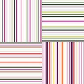 Striped. Seamless abstract vector pattern. Template for design.