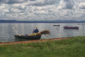 Fisherman, Paraguay