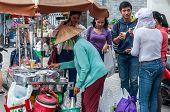 Traditional Vietnamese sweet beverages vendor
