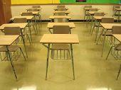 Mesas de sala de aula