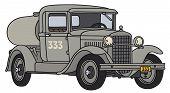 Old tank car