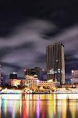 Saigon City At Night