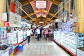 People Who Are Shopping At Ben Thanh Market