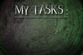My Tasks Concept