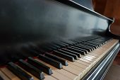 Accoustic Piano Keyboard