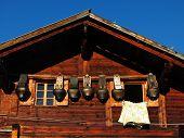 Facade Of A Old Farmhouse