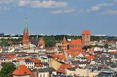 Panoramic View Of Torun, Poland