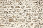 picture of stonewalled  - Stonewall with white cement detail - JPG