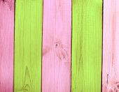Texture - old wooden boards of multicolor