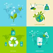 Ecology and recycling set