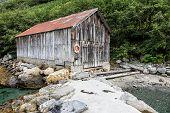 Boathouse On Storfjord