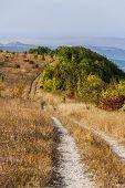mountain dirt road