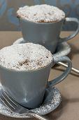Cupcakes In  Coffee Mugs