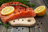 Salmon Fish With Fresh Herbs