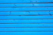 Blue Horizontal Planks