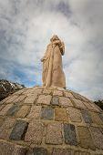 Statue At Col De Vergio In Corsica