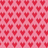 Valentine's Day Background - Seamless Pattern - in vector