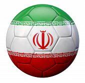 picture of iranian  - Iranian flag football - JPG