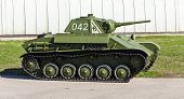 Old Soviet Light Tank T-70