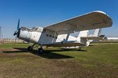 The Antonov An-2 Is A Soviet Mass-produced Single-engine Biplane In Togliatti Technical Museum
