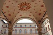 Milan Sforza Castle Outdoor Ceiling