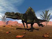 Arizonasaurus dinosaur - 3D render