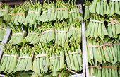 Betel Leaves At A Market In Myanmar