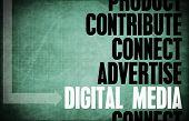 Digital Media Core Principles as a Concept