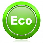 eco icon ecological sign