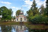Chinese Pavilion In Tsarskoye Selo (pushkin), Saint-petersburg