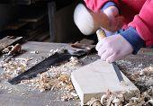 Carpenter Working.