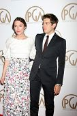 LOS ANGELES - JAN 24:  Keira Knightley, James Righton at the Producers Guild of America Awards 2015 at a Century Plaza Hotel on January 24, 2015 in Century City, CA