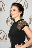LOS ANGELES - JAN 24:  Lauren Cohan at the Producers Guild of America Awards 2015 at a Century Plaza Hotel on January 24, 2015 in Century City, CA