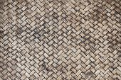 Hand work bamboo texture