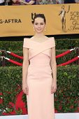LOS ANGELES - JAN 25:  Felicity Jones at the 2015 Screen Actor Guild Awards at the Shrine Auditorium on January 25, 2015 in Los Angeles, CA