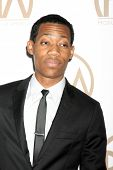 LOS ANGELES - JAN 24:  Tyler James Williams at the Producers Guild of America Awards 2015 at a Century Plaza Hotel on January 24, 2015 in Century City, CA