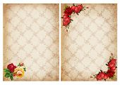 Vintage Backgrounds With Roses