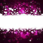Bright Greeting Valentine Card