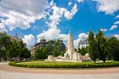 image of nazi  - Monument for Soviet liberation of Hungary in World War II from Nazi German occupation in Budapest - JPG