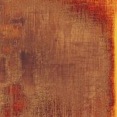 Old abstract grunge background, aged retro texture. With different color patterns: yellow (beige); brown; red (orange)