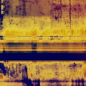 Old background with delicate abstract texture. With different color patterns: yellow (beige); brown; blue